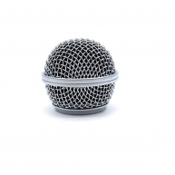 Replacement Ball Head Mesh Grill Handheld Dynamic Microphones #RG-58-OA