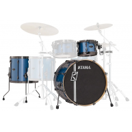 Tama Superstar Hyperdrive Maple 3-Piece Shell Pack Vintage Blue Metallic -