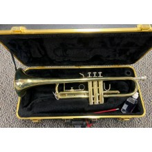 Nice Bach Soloist Trumpet with Case and Vincent 5C Mouthpiece, Made in USA