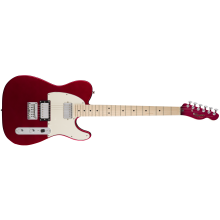 Fender Squier Contemporary Telecaster Guitar HH w/Maple Fingerboard Metallic Red