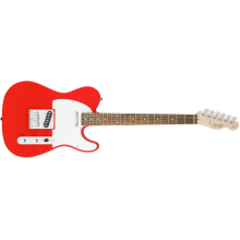 Fender Squier Affinity Series Telecaster Electric Guitar Race Red #0370200570
