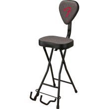 Fender 351 Pick Back Stool / Guitar Stand Combo w/Padded Seat #0991802006 - NEW