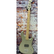 Fender Flea Signature Active Jazz Bass Maple Fingerboard, Satin Inca Silver-DEMO