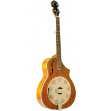 Gold Tone Dojo DLX Banjo with Resonator (Acoustic Electric, Six String, Maple)