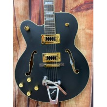 Gretsch G5191BK Tim Armstrong Lefty Electromatic, with Case and Upgraded Bigsby