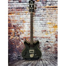 Guild Starfire 4-String Electric Bass in Black Gloss with Case - B-Stock #BS19
