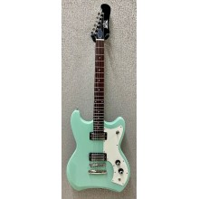 Guild Model S-50 Jetstar Solid Body Electric Guitar Seafoam Green with Gig Bag