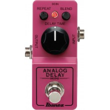 Ibanez Mini Analog Delay Pedal, True Bypass Guitar Effect Pedal