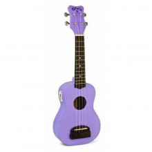 "Kohala ""TIKI"" Soprano Size Ukulele Teacher Or uke Club 10 Pack Bundle - Purple"
