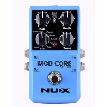 NUX Mod Core Deluxe Chorus/Flanger/Phaser/Rotary Guitar Effect Pedal 8 Effects