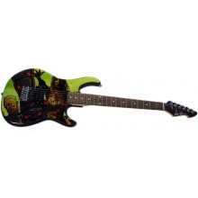 Peavy Rockmaster Full Size The Walking Dead - Riot Maple Neck  Electric Guitar