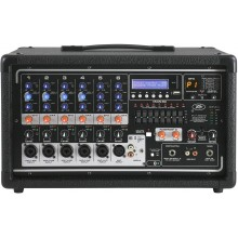 Peavey PVi6500 6 Channel 400 Watt Powered PA head with Bluetooth and FX