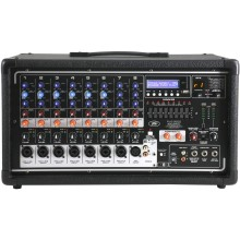 Peavey PVi8500 8 Channel 400 Watt Powered PA head with Bluetooth and FX