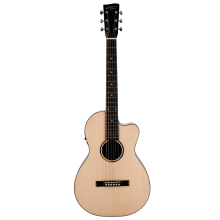 Recording King RP-G6-CFE5 Acoustic-Electric Solid Spruce Top Single O Guitar