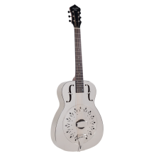 Recording King RM-998-D Metal Body Resonator Guitar - Chickenfoot Coverplate