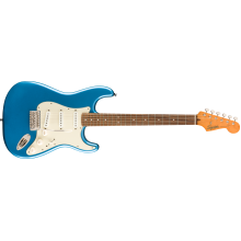 Squier by Fender Classic Vibe 60s Stratocaster, Laurel Board, Lake Placid Blue