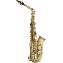 Stagg WS-AS215 Eb Brass Alto Saxophone with Hard ABS Case