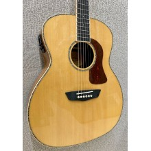 Washburn HG75SEG Grand Auditorium Solid Top Acoustic Electric Guitar