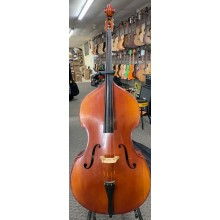 Erich Pfretzschner 1/2 Size Upright Acoustic Bass Model 892 with Bag, 1988