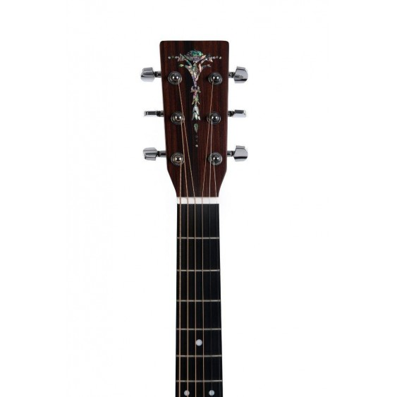 AMI Guitars DTCE Natural D Style Acoustic Electric Dreadnought Cutaway Guitar