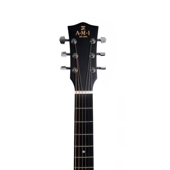 AMI Guitars GJM-SGE Sunburst 2000 Style Acoustic Electric Jumbo Solid Top Guitar