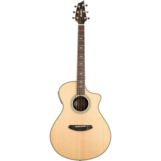 Breedlove Stage Concert CE Exotic Ziricote Solid Wood Acoustic Electric Guitar