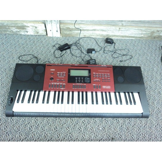 Casio CTK-6250 61 Keys Portable Keyboard - Return #MF5
