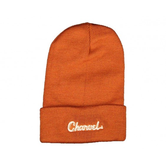 Charvel Guitars Embroidered Logo Beanie in Orange - #0992326000