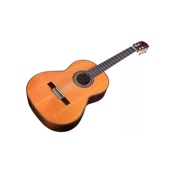 Cordoba C10 Parlor All Solid Parlor Classical Guitar with Foam Case - Blem #b255