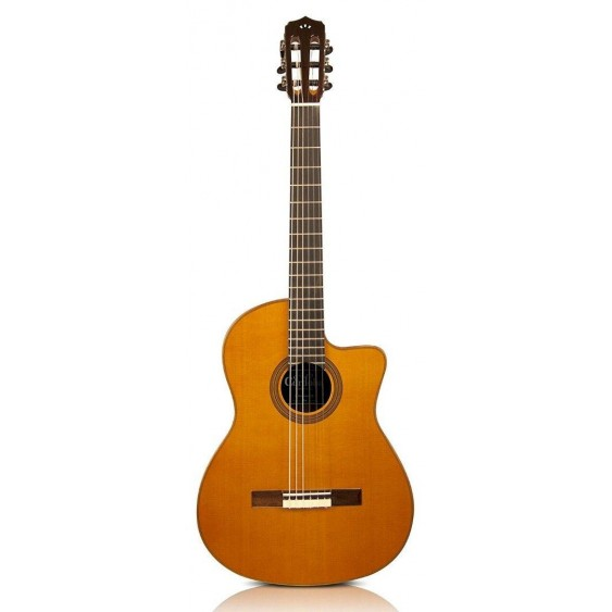 Cordoba Fusion 12 Orchestra CE/SP Acoustic Electric Classical Guitar - Blem A219