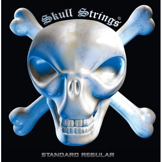 Skull Strings Stainless Steel Guitar Strings with 17% Chromium-Made for Metal!