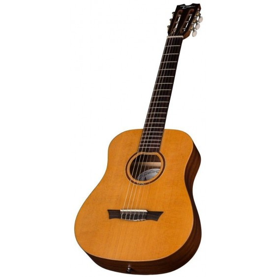 Dean Flight Nylon String Spruce 3/4 Size Travel Acoustic Guitar # FLY NYL SPR