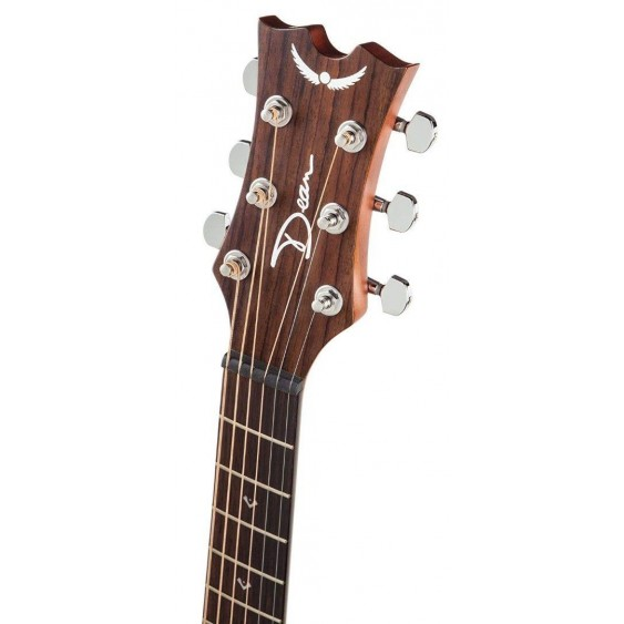 Dean Flight Series Mahogany 3/4 Size Travel Acoustic Guitar # FLY MAH