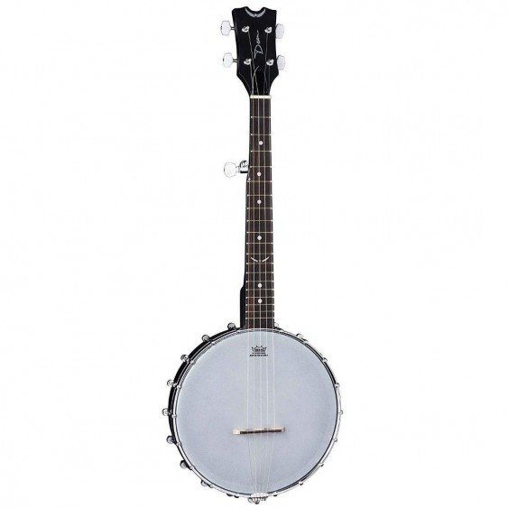 Dean Model BW MINI BKS Black Satin Mini 5-String Backwoods Travel Banjo