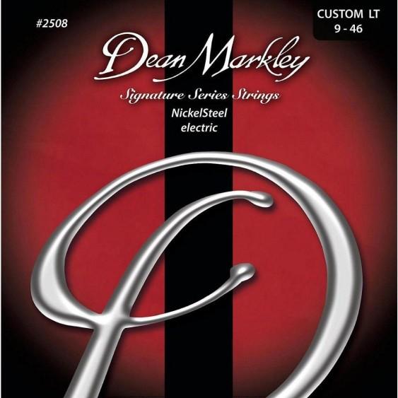 Dean Markley #2508 Signature NickelSteel Guitar Strings 9-46, Custom Light