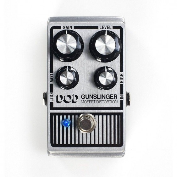 Digitech DOD-GUNSLINGER MOSFET Distortion Pedal  - NEW