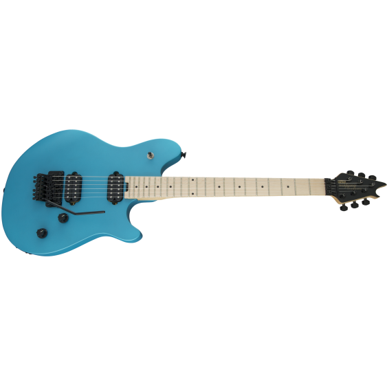 EVH WG Wolfgang Standard Matte Blue Frost Maple Neck Floyd Electric Guitar -Demo