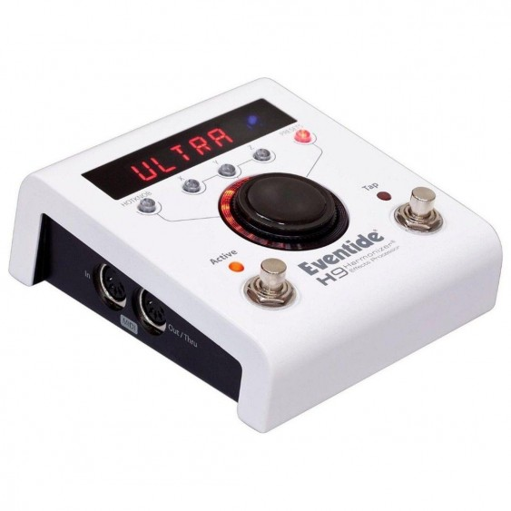 Eventide H9 CORE Harmonizer Guitar MultiEffect Pedal +Power Supply, Cable Bundle