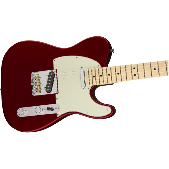 Fender American Professional Telecaster Guitar Maple Neck Candy Apple Red w/Case