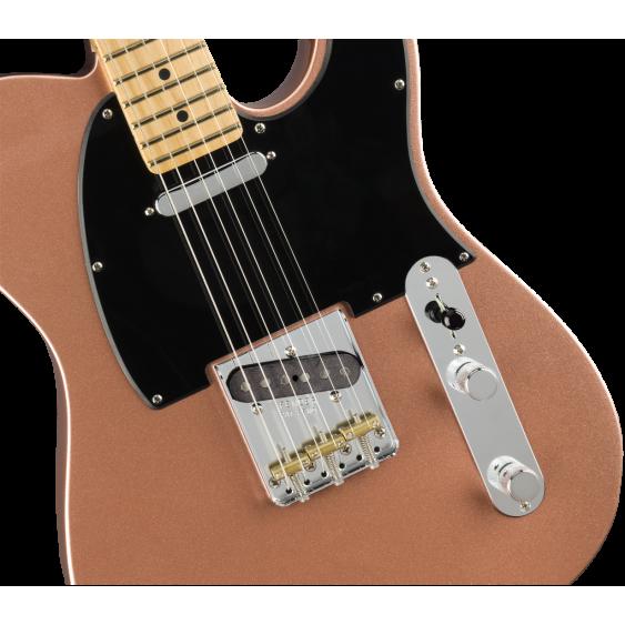 Fender American Performer Telecaster Guitar w/Bag, Penny - Serial US18092618