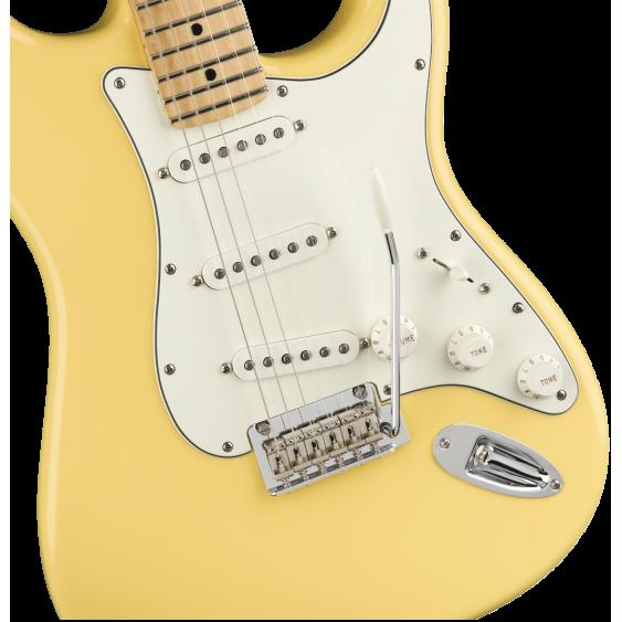 Fender Player Stratocaster Electric Guitar Sonic Buttercream MIM - Player Bundle