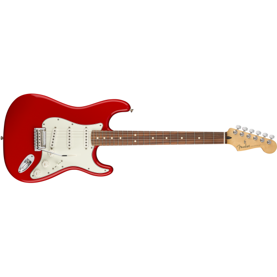 Fender Player Stratocaster Electric Guitar Sonic Red Finish MIM - Player Bundle