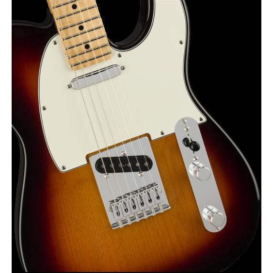 Fender Player Series Telecaster in 3 Color Sunburst Finish, Maple Neck - MIM