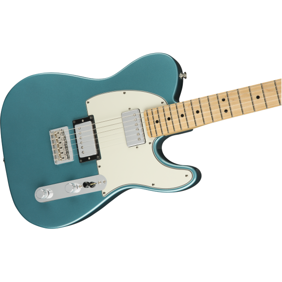 Fender Player Series Telecaster HH Configuration, Tidepool Electric Guitar - MIM