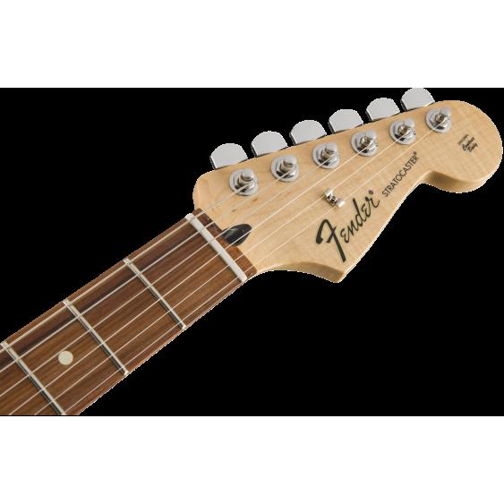 Fender Standard Dual Humbucker Stratocaster Electric Guitar in Black - MIM