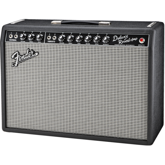 "Fender '65 Deluxe Reverb Vintage Re-Issue 1 x 12"" All Tube Guitar Amplifier"