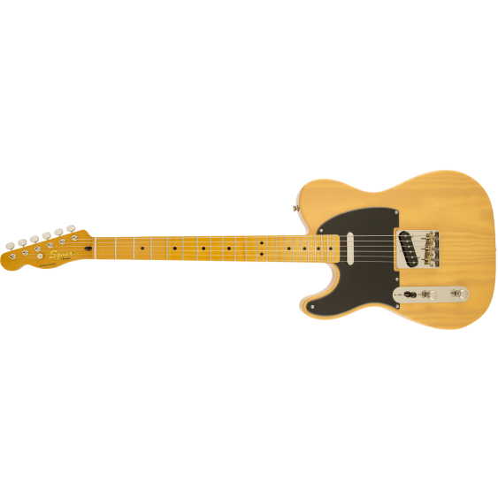 Fender Squier Classic Vibe 50s Telecaster Butterscotch Blonde, Left-Handed DEMO