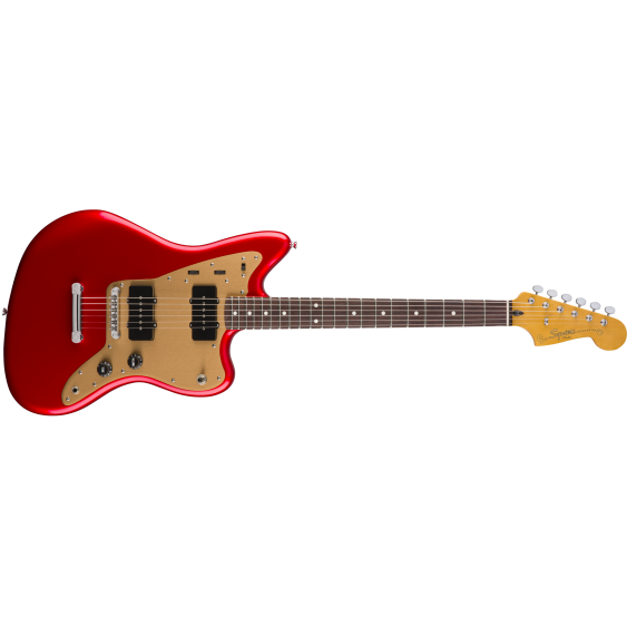 Fender Squier Deluxe Jazzmaster ST, Rosewood Fretboard Candy Apple Red