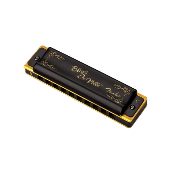 Fender Blues Deville 10 Hole Major Diatonic Harmonica in the Key of G