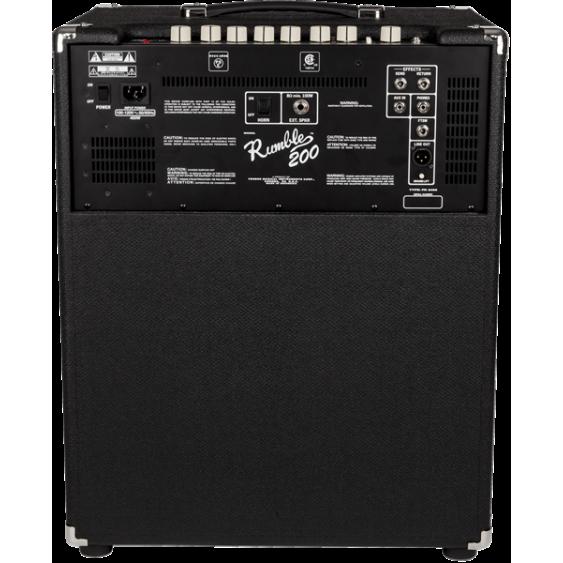 Fender Rumble 200 Watt Class-D 1x15 Bass Combo Amplifier V3 Model 2370500000